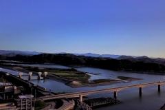 仁淀川 高知県空撮