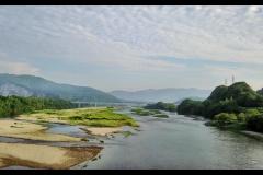 仁淀川の流れ